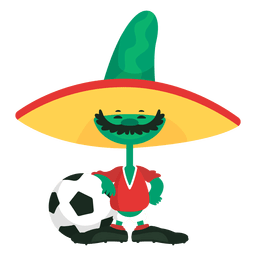 Pique fifa mascot mexico 1986