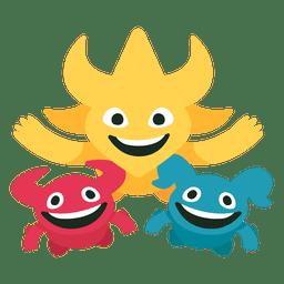 Spheriks coreia japão 2002 fifa mascote