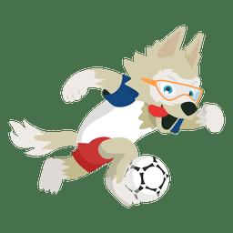 Zabivaka russia 2018 fifa mascote