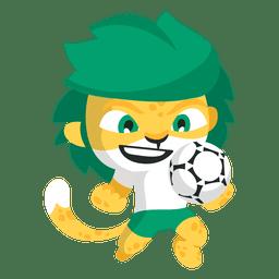 Mascote da fifa de Zakumi áfrica do sul 2010
