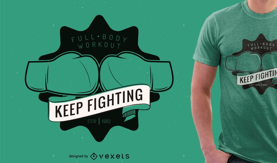 Boxing or gym tshirt design