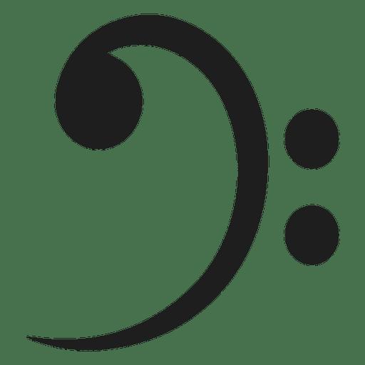 Clave de fá Transparent PNG