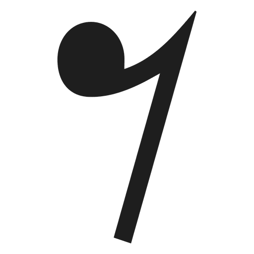 Eighth note rest