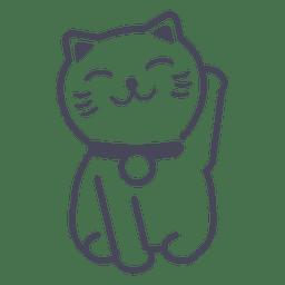 Maneki neko Katze