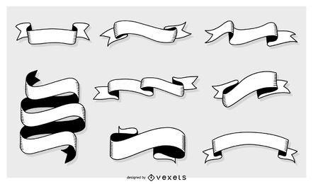 Conjunto de Banners genéricos de vectores