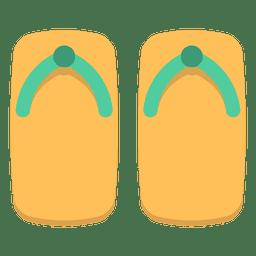 Color japan flip flops