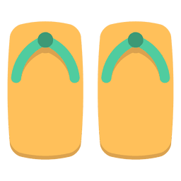 Flip flops color japon