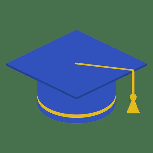 Abschlusskappe blau Transparent PNG
