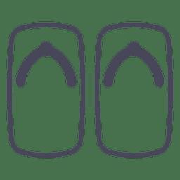 Japão flip flops