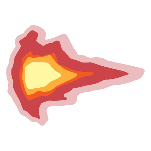Muzzle flash ball fire - Transparent PNG & SVG vector file