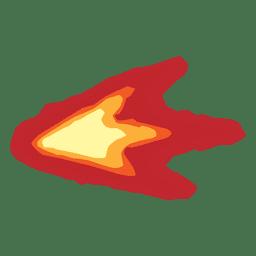 Hocico flash luz de fuego