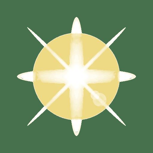 Bright light lens flare