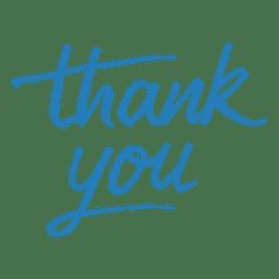 Mensaje de agradecimiento