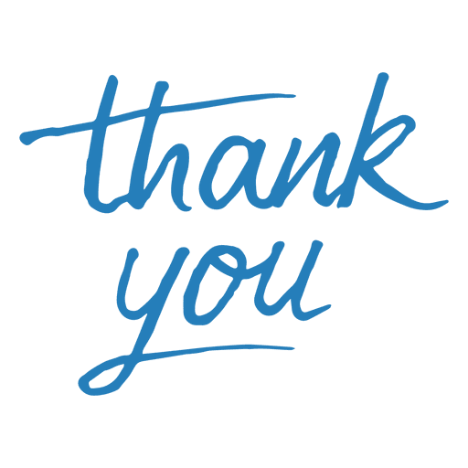 Thank You Message Transparent Png Svg Vector File
