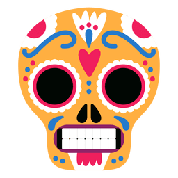 Crânios Amarelos México