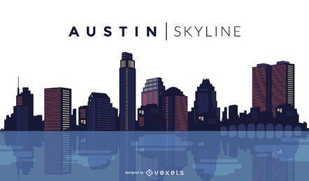Austin skyline design