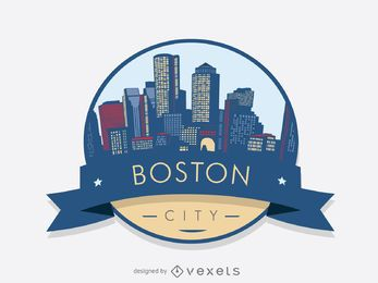 Emblema do horizonte de Boston