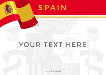 Design do país da Espanha