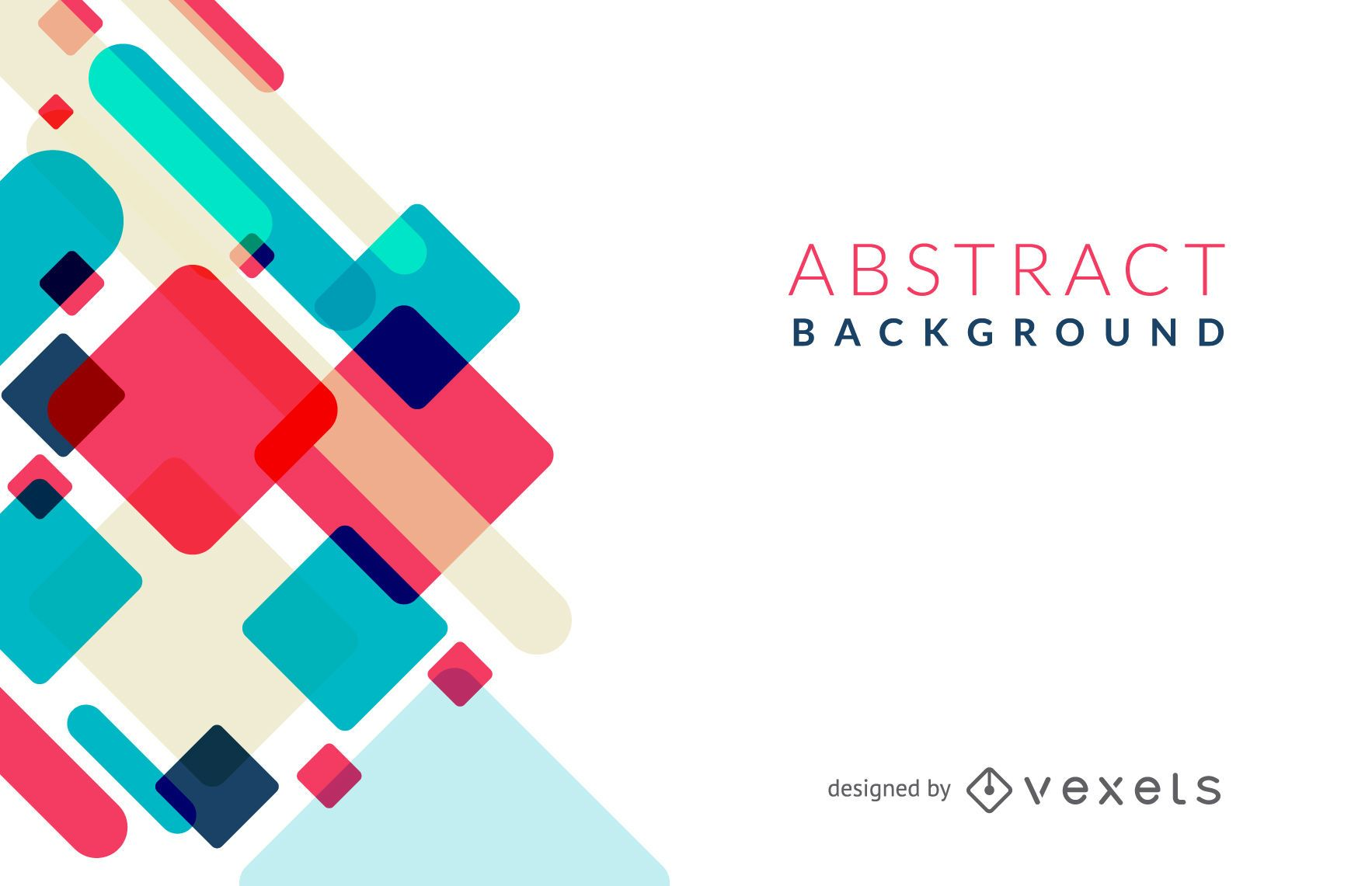 Colorful Abstract Background - Vector Download