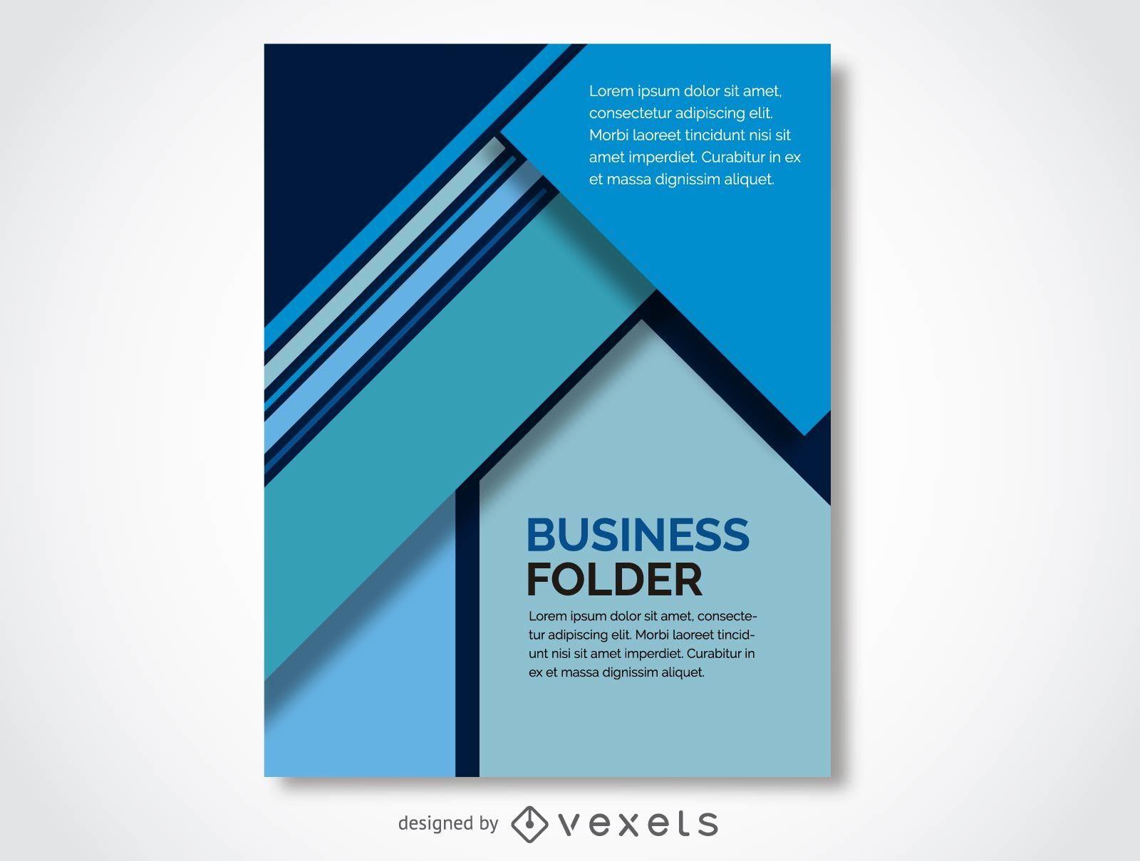 Diseño de portada de negocios - Descargar vector
