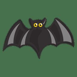 Black bat cartoon