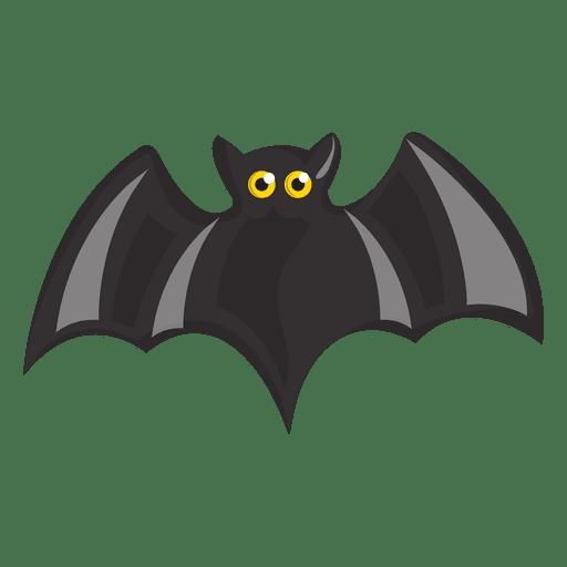 Dibujos animados de murciélago negro Transparent PNG