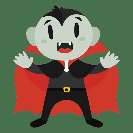 Dracula halloween cartoon costume Transparent PNG