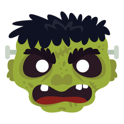Frankestein grüne Maske
