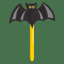 Dia das bruxas morcego doce lolypop