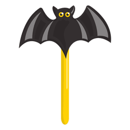 Halloween lolypop doce morcego