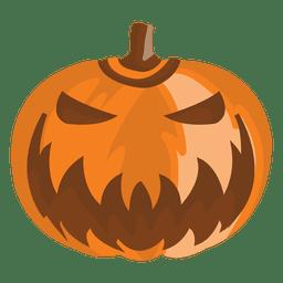 Calabaza de dibujos animados de halloween