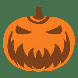 Máscara de abóbora de desenhos animados de Halloween