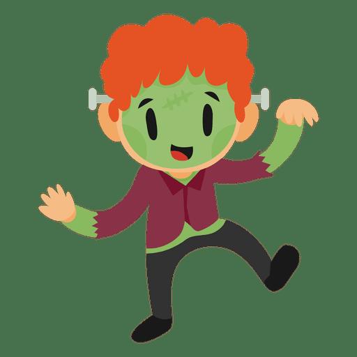 Disfraz de dibujos animados para niños de Halloween