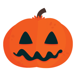 Máscara de calabaza de Halloween