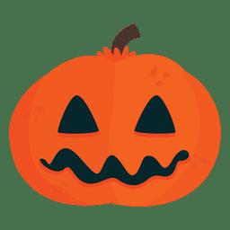 Máscara de abóbora de Halloween