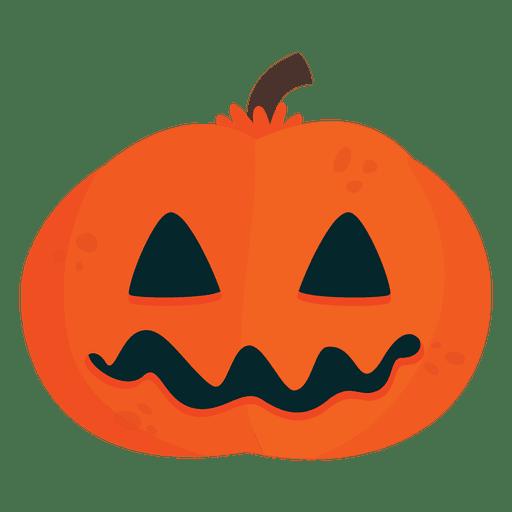 Calabazas Animadas Cool Calabaza De Halloween Scarry Transparent - Calabazas-animadas