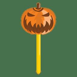 Calabaza de Halloween dulce lolypop