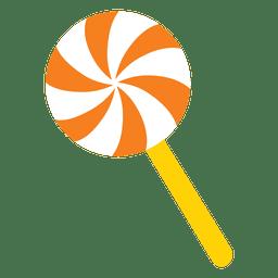 Desenhos animados doces e doces do doce de lolypop