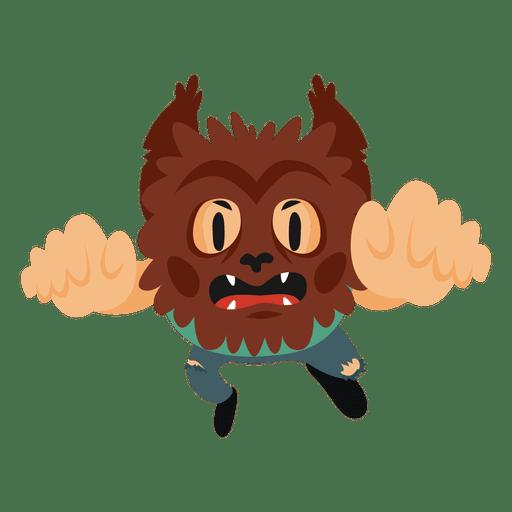 Monster halloween cartoon costume Transparent PNG