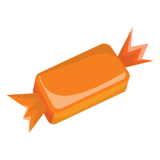 Simple orange Halloween sweet Transparent PNG