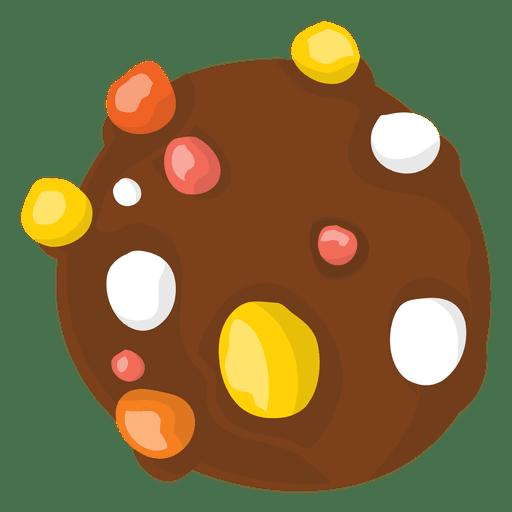 Galleta dulce de halloween