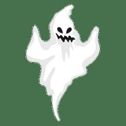 Weiße Geist-Silhouette