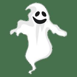 Silueta de fantasma blanco 13