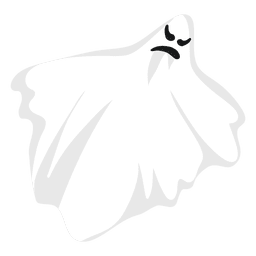 White ghost silhouette 15