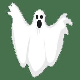 Silueta de fantasma blanco 17