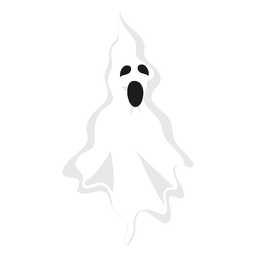 White ghost silhouette 2
