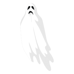 White ghost silhouette 3