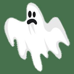 Silhueta de fantasma branco 5