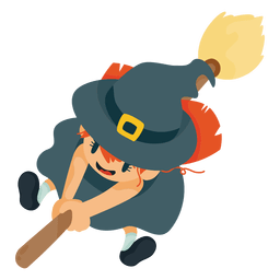 Witch halloween cartoon costume