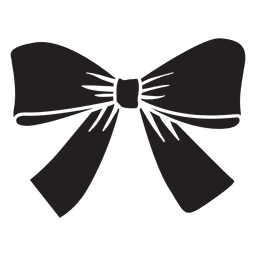 Pajarita regalo negro
